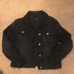 Lucky Black Denim Jacket